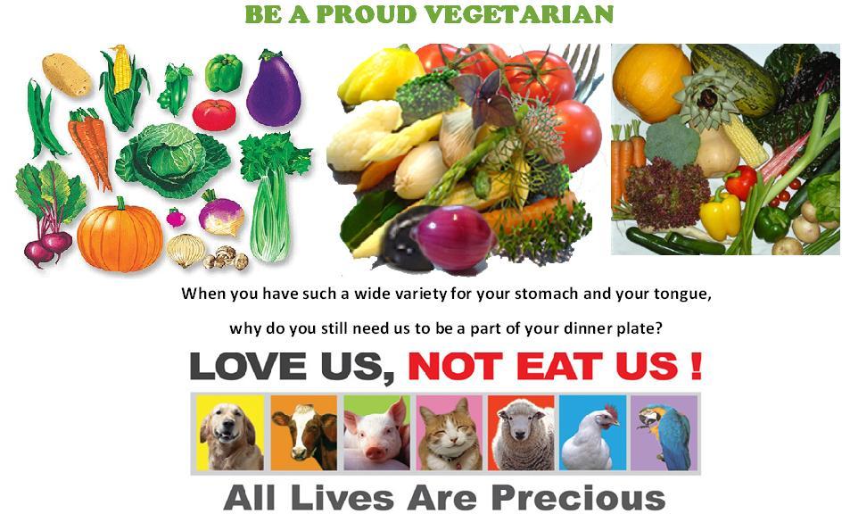 Be a Proud Veggie