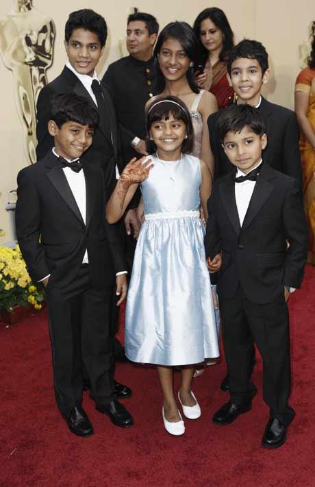 Child Cast - Slumdog Millionaire