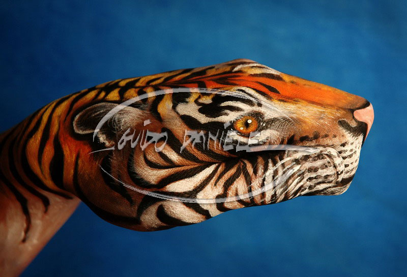 Excellent Body Art Painting Q8life S Weblog All About Life Happennings