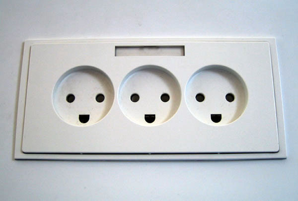 Danish power outlet